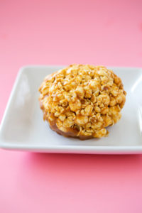Caramel Popcorn $2:handmadecaramel mixed with air popped popcorn.