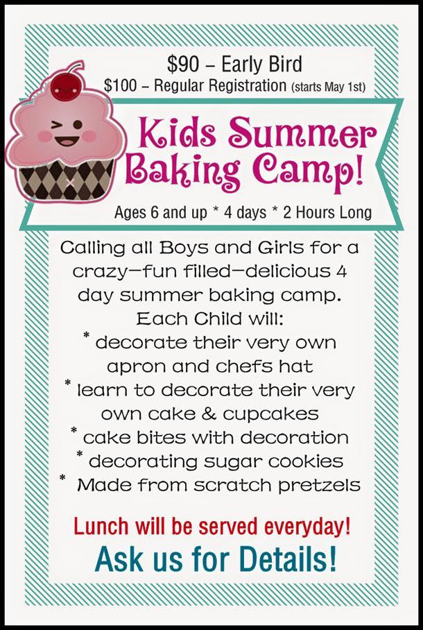 Kids Summer Baking Camp