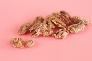 Candied Pecans $5: handmade sweetened crunchy pecans