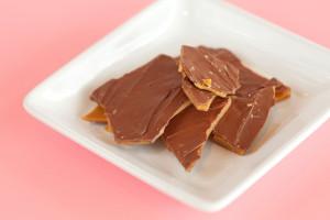 Handmade Toffee $3: is handmade covered in Milk Chocolate.