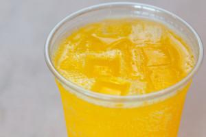 Mango Mountain Dew $1.50 Mountain Dew mixed with Mango syrup